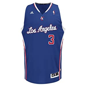 NBA Los Angeles Clippers Blue Swingman Jersey Chris Paul #3 by adidas