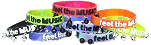 Zumba Fitness Stellar Bell Bracelets , Multi, One Size
