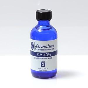 Trichloroacetic Acid - TCA Peel 40% Medical Grade 1oz. 30ml (Level 3 pH 0.8)