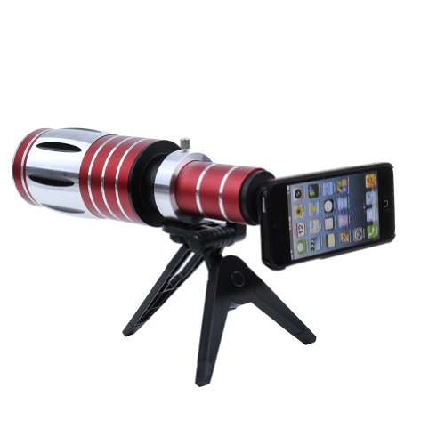 Neewer® 50X Super Long Optical Zoom Telescope Lens+Tripod Stand For Iphone 5 5S