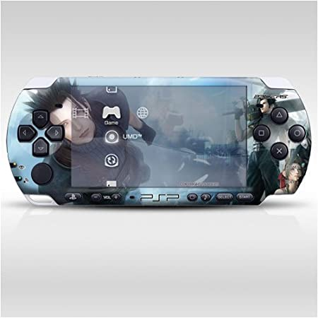 Final Fantasy Decorative Protector Skin Decal Sticker for PSP-3000, Item No.0858-09
