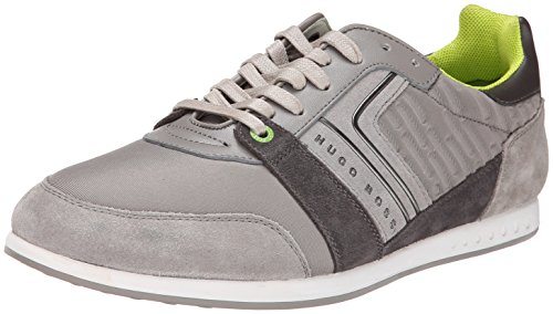 Boss Hugo Boss Fast Digital Herren US 10 Grau Turnschuhe UK 9 EU 43 thumbnail