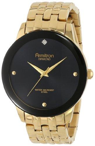 armitron-herren-20-4952bkgp-diamond-dial-wall-to-wall-crystal-gold-tone-bracelet-armbanduhr