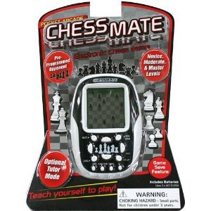 Westminster Wmr Pocket Arcade Chessmate- Electronic Chess Game Picture