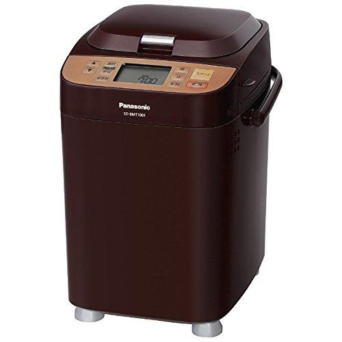 パナソニック ホームベーカリー (1斤) SD-BMT1001-T ブラウン