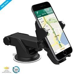 Premium Car Mount mobile holder (Black)