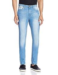 Cherokee Men's Slim Fit Jeans (8907242788166_267694988_32W x 33L_Lt-Blue)