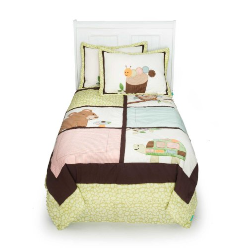 Tiddliwinks Woodland 3 Piece Full Bedding Set By Kidsline front-995990