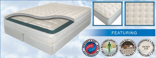 """11"""" California King Innomax® Luxury Supporttm Mystique Adjustable Air Bed W/Dual 50 Number Remote Controls front-636895"""