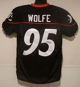 Autographed Derek Wolfe Jersey - Black Size Xl - Autographed College Jerseys by Sports+Memorabilia