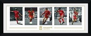 Gb Eye Liverpool Fc Legends Framed Photograph30x12 Inches by Gb Eye Ltd