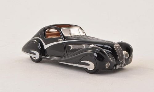 delahaye-135-competition-coup-figoni-falaschi-black-1936-model-car-ready-made-nickel-143-by-delahaye