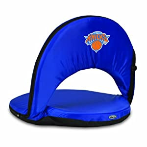NBA New York Knicks Oniva Portable Reclining Seat, Navy by Picnic Time