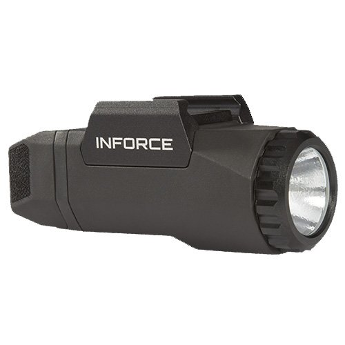 InForce Auto Pistol Weapon Mounted White LED Light 400 Lumens Generation 3 Black A-05-1