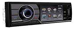 See Power Acoustik PD-344BT Single DIN Bluetooth In-Dash DVD/AM/FM Receiver w/ 3.4