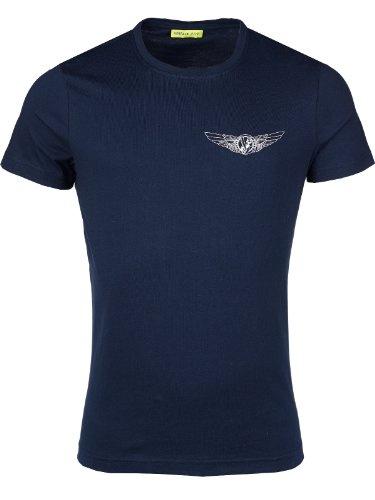 Versace Jeans Couture T-Shirt (M-03-Ts-30529) - 48(DE) / 48(IT) / 48(EU) - dunkelblau