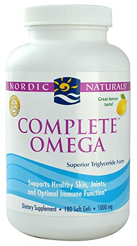 Nordic Naturals, Complete Omega, citron, 1 000