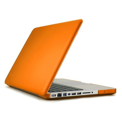 Speck Products See Thru Satin Case for MacBook Pro 13-Inch Aluminum Unibody Only, Clementine (SPK-A0452)