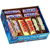 Chocolate Bar Variety Pack - 30 ct