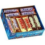 Chocolate Bar Variety Pack - 30 ct