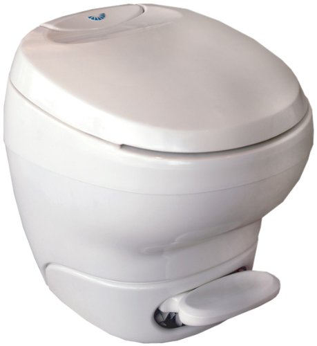 Thetford 31121 Bravura Low Profile Toilet with Water Saver Spray