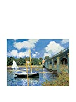 Artopweb Panel Decorativo Monet Bridge At Argenteuil 80x60 cm Multicolor