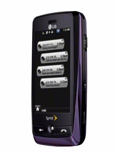 LG Rumor Touch Phone, Purple (Sprint)