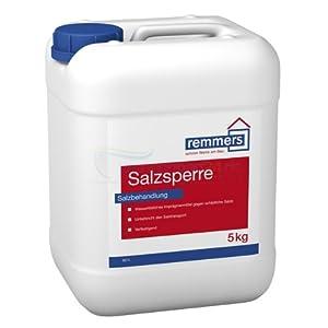 Remmers Salzsperre , Sanierlösung zur Mauersalzverkapselung. 5 Kg  BaumarktKundenbewertung und weitere Informationen