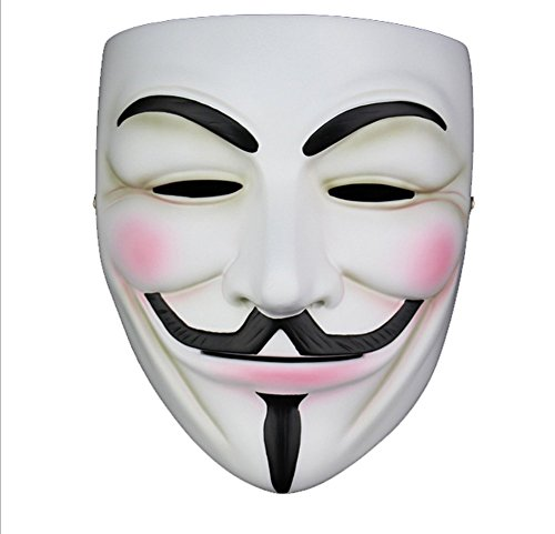 Bluestar Halloween Movie Theme with Authentic Character Models V for Vendetta Mask