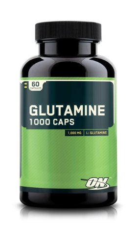 Optimum Nutrition Glutamine 1000 Caps 60 Capsules