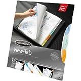 Wilson Jones View-Tab 8 Tab Index Sheet Protectors, 11 x 8.5 Inches Sheet Capacity (W55115A)