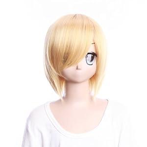 CosplayMIX Hunter X Hunter KURAPIKA Cosplay Short Wavy Wig