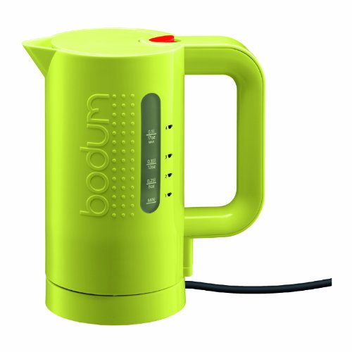 Bodum Bistro 17-Ounce Mini Cordless Electric Water Kettle, Green