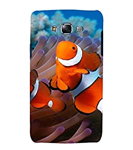 printtech Nature Fish Clown Anemone Back Case Cover for Samsung Galaxy J1::Samsung Galaxy J1 J100F