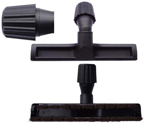Hartbodendüse - Parkettdüse - Laminatdüse - Fliesendüse passend für Dirt Devil M 7050-9Fello&FriendBag inkl. 1 Rolle 16l Abfallbeutel