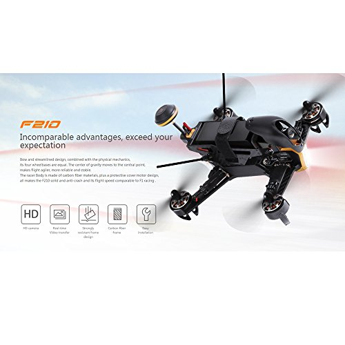 Walkera F210 FPV Racing Drone RC Quadcoper RTF (Devo 7 + Battery...