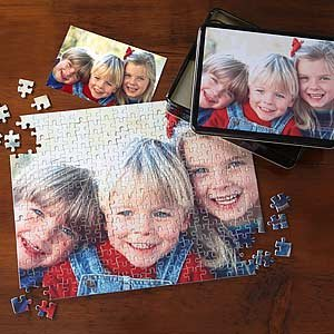 Cheap PersonalizationMall.com Personalized Photo Jigsaw Puzzle with Keepsake Tin – Horizontal (B002JJATHY)