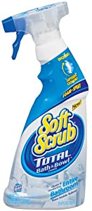 Soft Scrub Total Bath and Bowl Fresh Scent, 25.4 Ounce (Pack of 3)