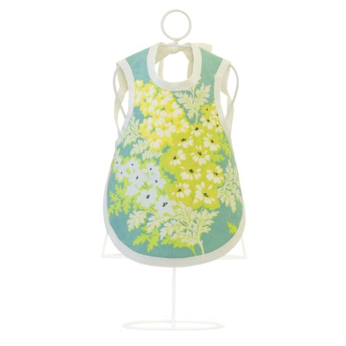 Dress-Up Bib & Burp Cloth - Organic Baby Shower Gift - Usa Made (Frolic) back-174112
