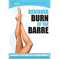 Burn at the Barre for Beginners (Ballet Workout)