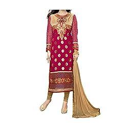 party wear embroidered women georgette salwar suit -by vasu saree