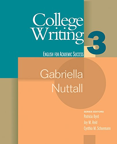 College Writing 3 (Houghton Mifflin English for Academic...