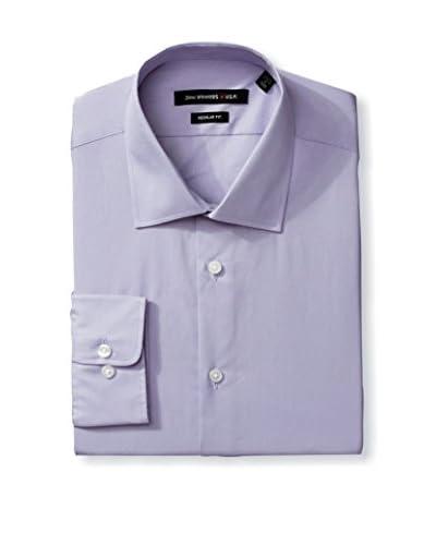 John Varvatos Star USA Men's Poplin Solid Dress Shirt