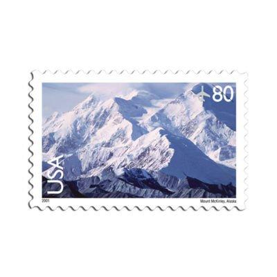Mount Mckinley Alaska 20 x 80 Cent U.S. Postage Stamps