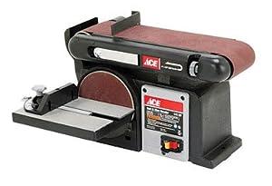 Ace Benchtop Belt Disc Sander 60701034 Power Belt Sanders Patio Lawn Garden
