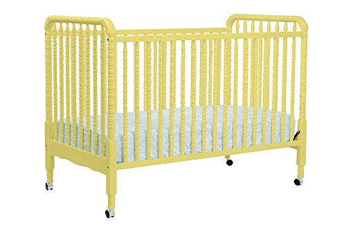 Davinci Jenny Lind Classic Sunshine 3-In-1 Convertible Crib With Fixed Side Rails front-3419