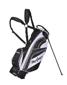 MacGregor Tourney X Golf Stand Bag - Black/White, Size 1 (Old Version)