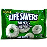 "Life Savers, Lifesavers Wint o Green Big Size 368gvon ""Wrigley"""