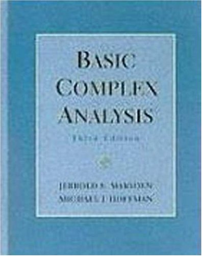 Basic Complex Analysis