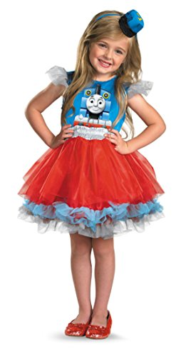 Girls Frilly Thomas Kids Child Fancy Dress Party Halloween Costume